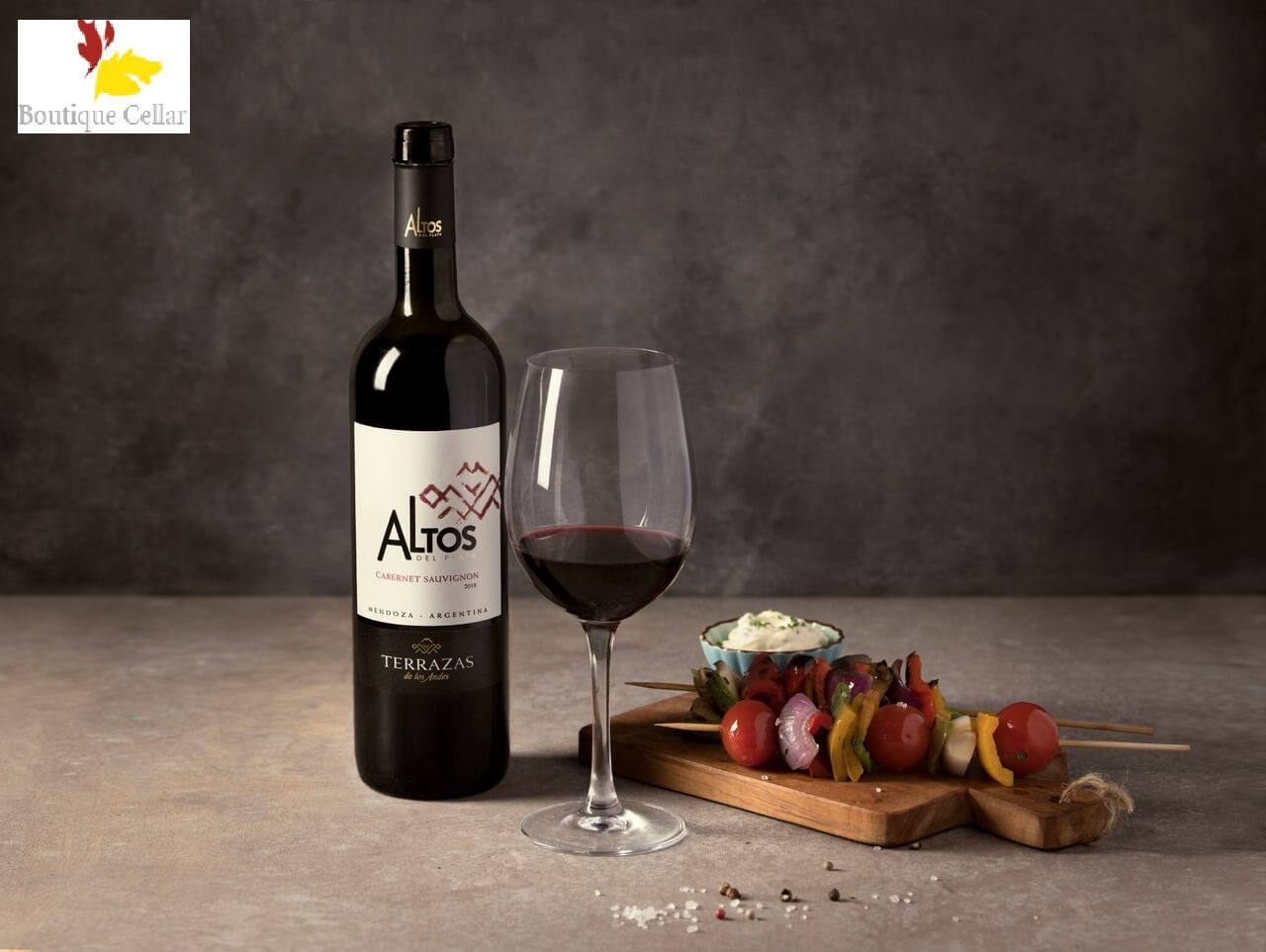 TERRZAS ALTOS CABERNET SAUVIGNON - 750ml